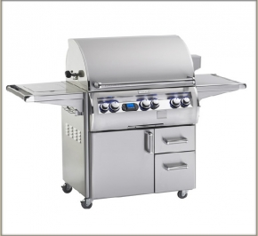FireMagic Echelon Diamond Series E790SME1N62 Natural Gas/Liquid Propane Freestanding Grill